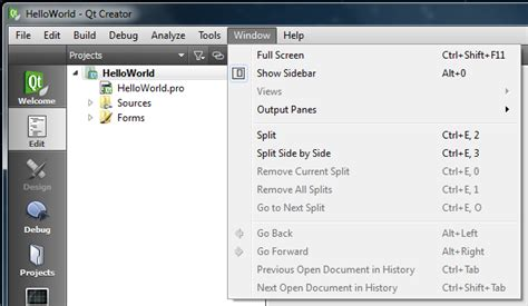 qt designer menu learn c with qt part 001 introduction to the qt