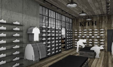shoe stores nyc kith shoe store designed cleanroom news