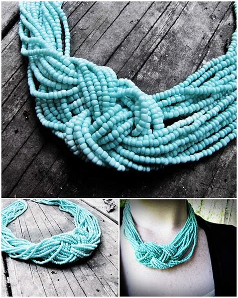 turquoise knot necklace a tutorial diy clothes