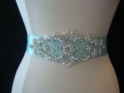bridal sash wedding dress sash belt inspired