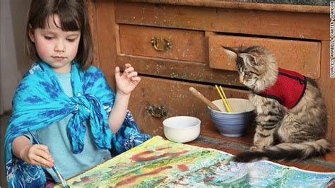 painting for 5 year olds the extraordinary of autistic five year monet
