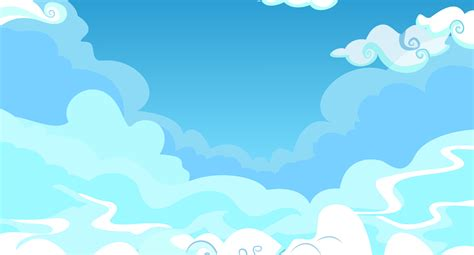 blue cute wallpaper vector blue sky background clipart