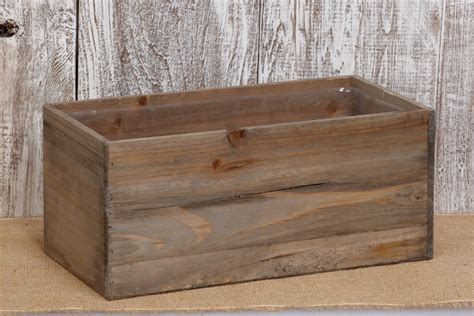 planter box wood 6x7x13 5 quot