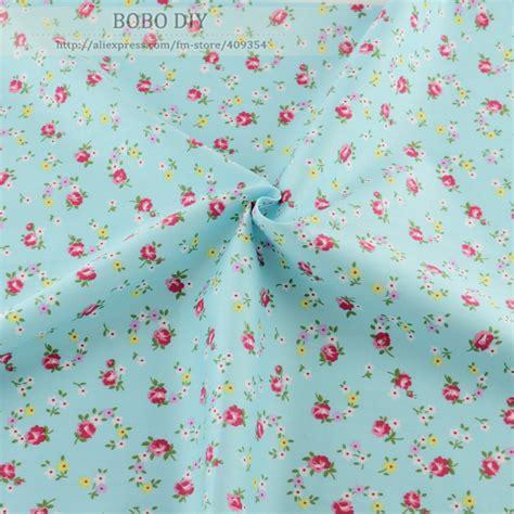 flower pattern dress fabric aliexpress com buy cotton fabric twill 50cmx160cm piece