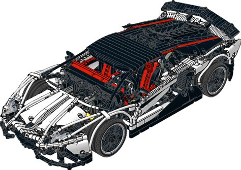TECHNIC Instruction   Lamborghini Aventador LP 720 4