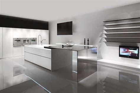 Cuisine Façon Atelier by Modern Minimalist Kitchen Design Cuisines