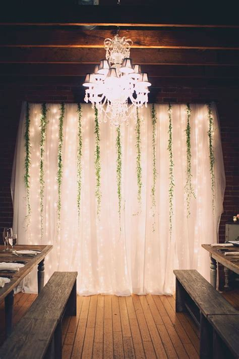16 Wedding Backdrop Ideas With Greenery   Wedding Planning