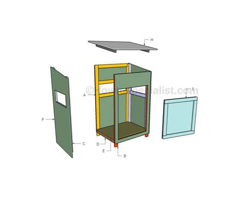 woodworking plans for rabbit hutch