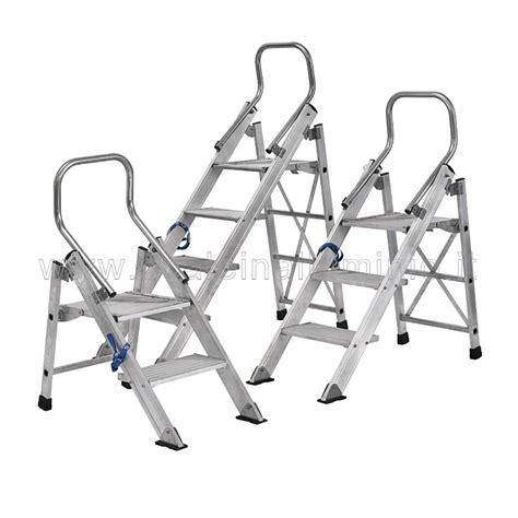 sgabelli in alluminio sgabello in alluminio 3 gradini