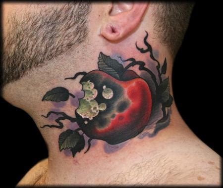 rotten apple tattoo rotten apple by jeff ensminger tattoonow
