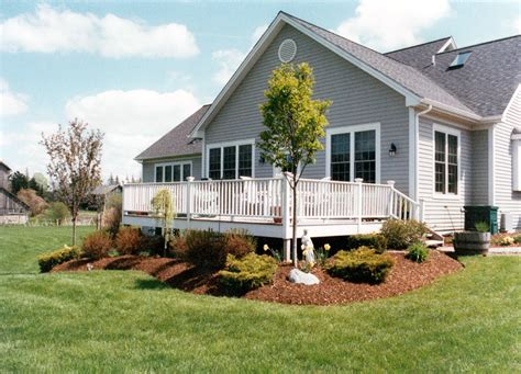 landscaping landscaping ideas around deck pictures learn how