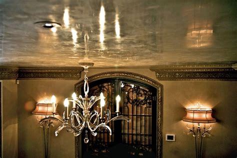 beautiful venetian plaster ceiling traditional dallas
