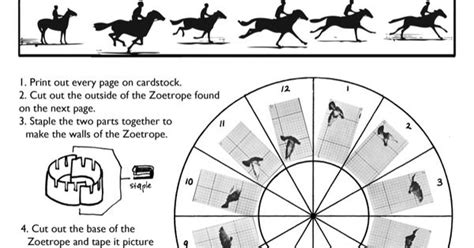 printable zoetrope template phenakistoscope template printable sketch coloring page