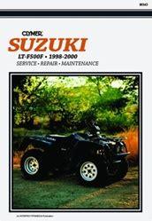 Suzuki Quadmaster 500 Service Manual Suzuki Ltf500f Quadrunner Manual 500 Repair Service