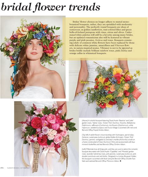Wedding Review by Flower Trends Forecast Florist Review Wedding Trends For