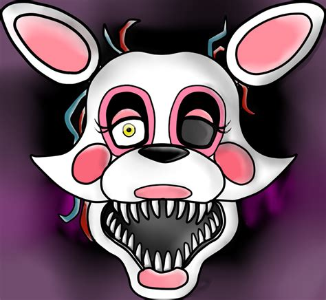 mangle five nights at freddys fandom how to draw mangle from five nights at freddys 2 s by the