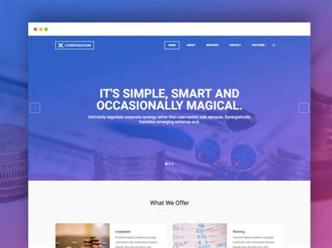 Bizco Business Corporate Html Template 60 free responsive html5 css3 website templates