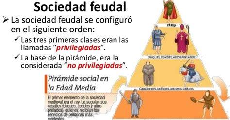 piramide social del sistema feudal la sociedad feudal