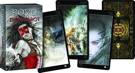 royo dark tarot deck 073873361x jun168815 luis royo dark mini tarot deck previews world