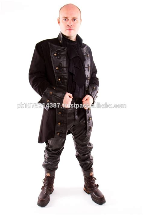 popular pirate style coat buy popular pirate style coat lots from 2015 new fashion gothic steunk coat mens gothic pirate
