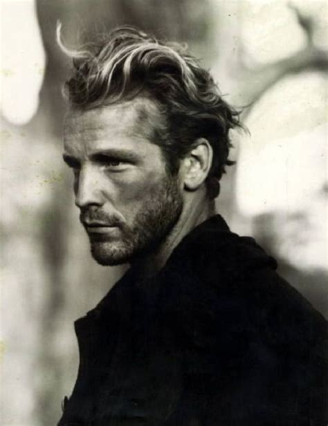 rugged hair rugged handsome men pinterest