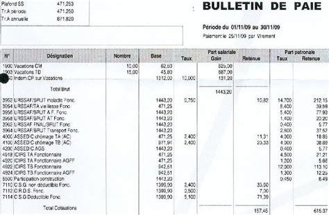 bulletin de paie fonctionnaire territorial comment faire une fiche de paye