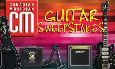 Guitar Giveaway Contest - cm guitar sweepstakes