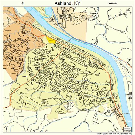 kentucky map ashland ashland ky pictures posters news and on your