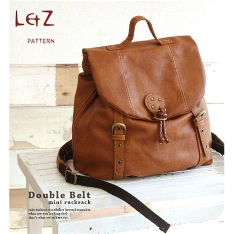 Handmade Backpack Pattern - 25 best ideas about leather bag pattern on