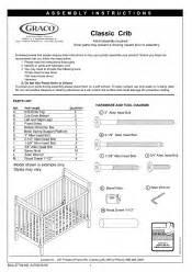 graco 3281681 043 ashleigh crib in manual