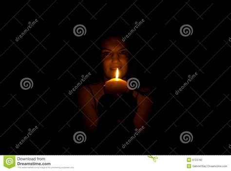 candle lighting times cleveland candle and darkness royalty free stock photography