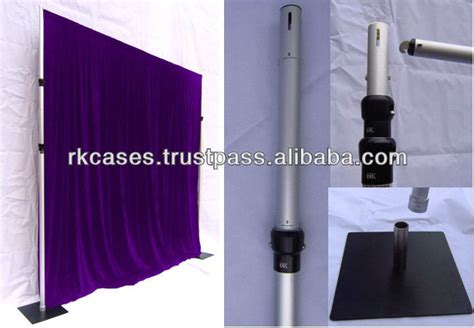 pole and drape rk pipe and drape pole drap for event wedding chrismas
