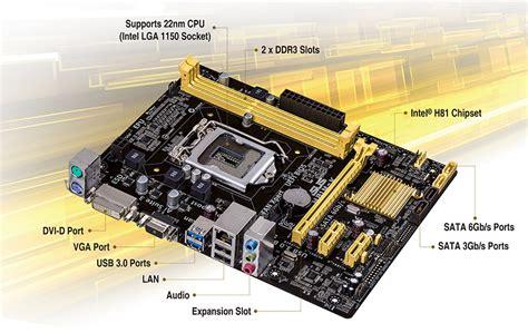 Motherboard Asus H81m K Lga 1150 Brand New No Box Asus H81m K Motherboard Socket 1150 Intel Micro Atx Pci E