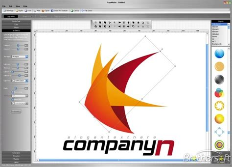 logo layout maker download free logomaker logomaker 4 0 download