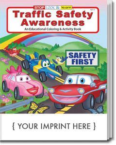 traffic safety awareness coloring and activity book 0269