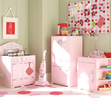 pink retro kitchen collection retro kitchen collection pottery barn kids