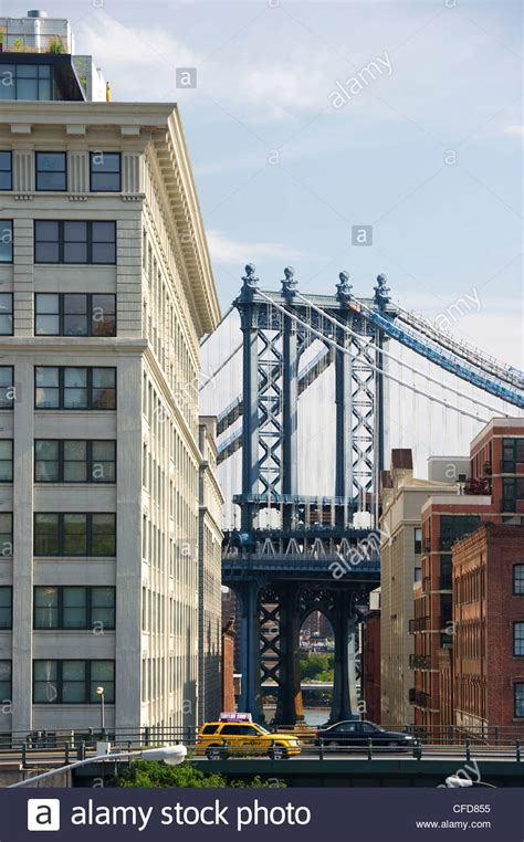 houses in brooklyn heights new york usa stock photo manhattan bridge brooklyn heights new york usa stock