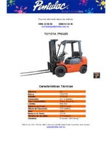 toyota 7fgu25 pdf manual y gu 237 a del usuario