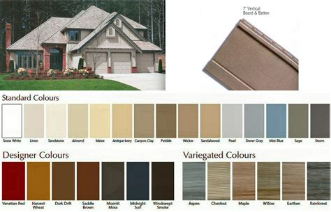 canada colors board and batten siding manufacturers board and batten