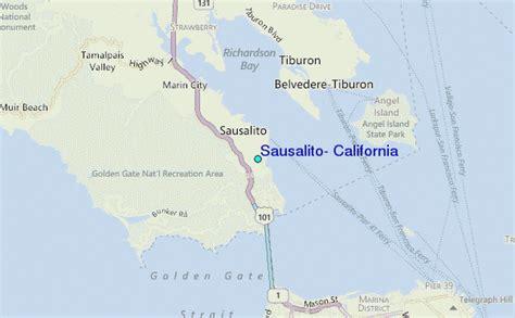 sausalito map sausalito california tide station location guide