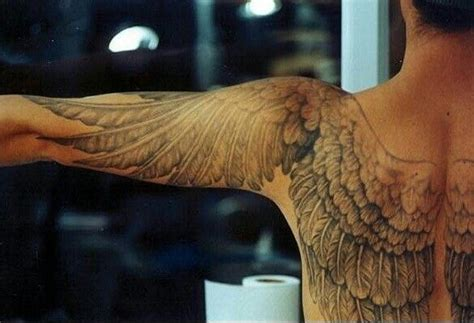 anatomically correct wing tattoos hmmmm