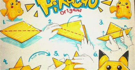 How To Make A Paper Pikachu - mind your madness diy pikachu origami