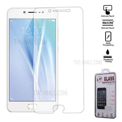 for vivo v5 0 25mm tempered glass screen cover arc edge tvc mall