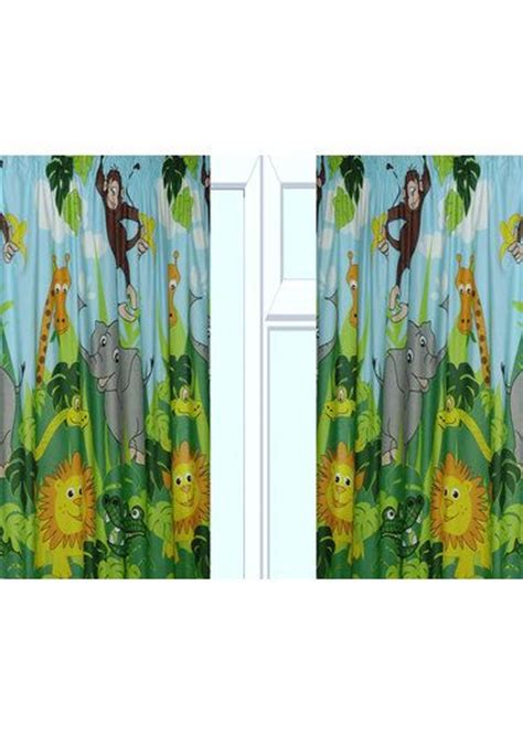 jungle curtains uk jungle curtains in 54 and 72 inch http www childrens