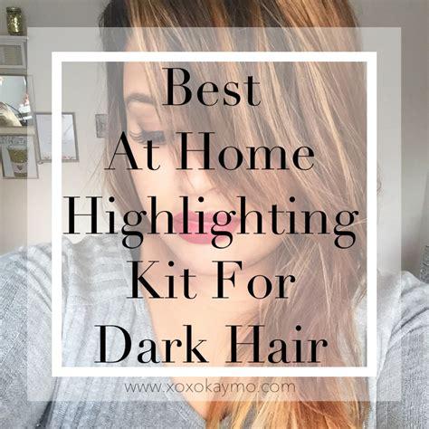 best at home highlighting kit best at home highlighting kit for dark hair xoxokaymo