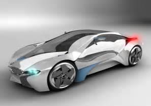 bmw i8 concept car by franklin eras 3d artist
