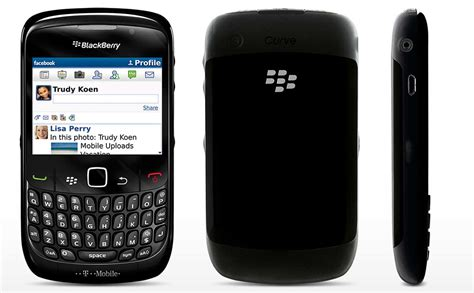 blackberry  curve smartphone att wireless black