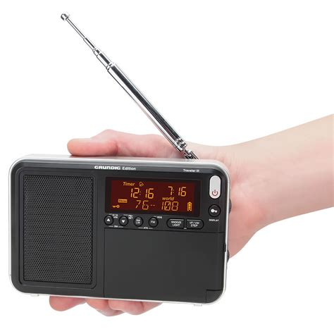 best digital pocket the best pocket radio hammacher schlemmer