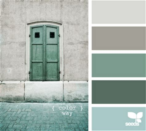 Seafoam Green And Gray Bedroom by The Gallivanting Of Note Design Seeds