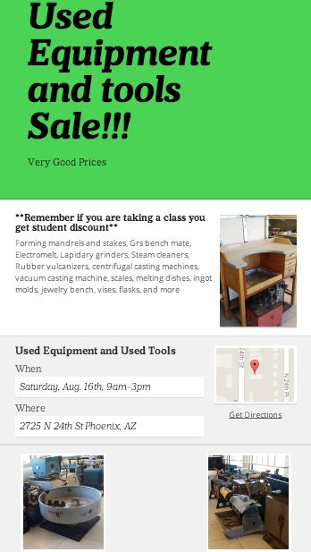 used jewelry equipment for sale used tool sale